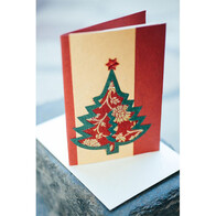 Christmas Card - Sari Tree